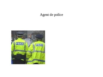 French professions PowerPoint
