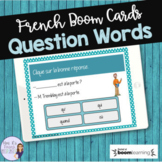 French question words task cards BOOM CARDS MOTS INTERROGATIFS