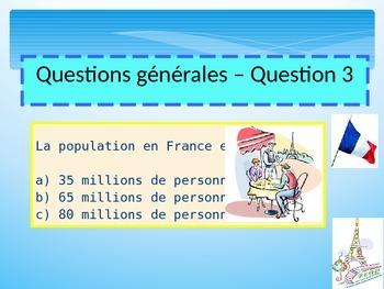 French quiz freebie for beginners