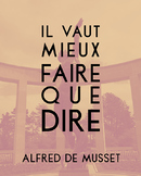 French quote poster - Alfred de Musset