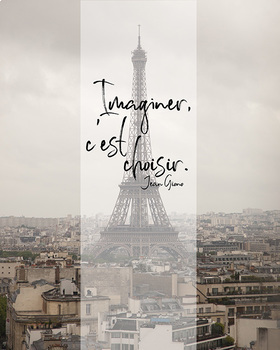 French quote poster bundle