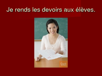 French -re Verb Conjugation Practice