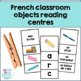 French reading centres - Dans ma salle de classe