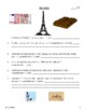 French Reading Comprehension Activity (Eiffel Tower)