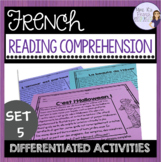 French reading comprehension for beginning students COMPRÉ