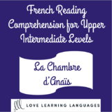 French reading comprehension texts and questions for upper intermediate levels