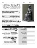 French reading & passé composé/imparfait practice: Évangéline