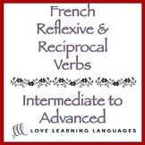 French reflexive and reciprocal verbs, idiomatic verbs inc