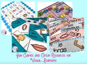 French reflexive verbs bundle - present and passé composé