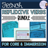 French reflexive verbs bundle - present and passé composé
