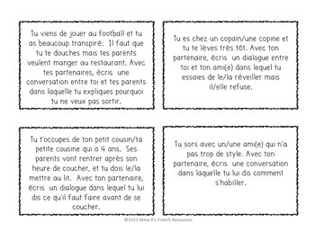 French speaking activities REFLEXIVE VERBS BUNDLE