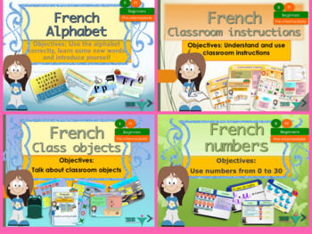 French resource bundles for beginners