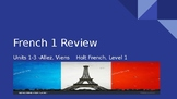 French review of Allez, viens! (Level 1) units 1-3