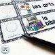 French schedule cards MODERN CHEVRON