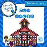 French school community unit/ Mon école {études sociales}