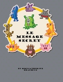French secret message. Secret Message. Math. Addition 6