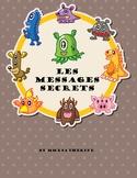 French secret message. Secret Message. Math. Addition 1