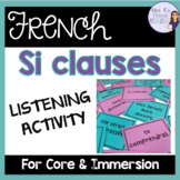French si clause game-future and conditional/ le futur sim
