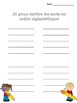 French sight word sort - alphabetical - Jeux de lecture