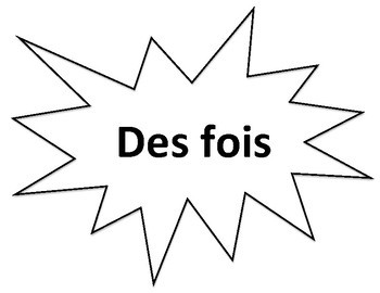 Four Corners Posters (Toujours) - French activities
