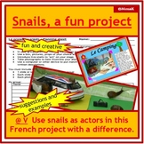 French snails ideal Spring or Summer project