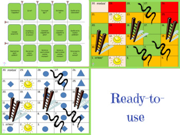 French snakes and ladders beginners