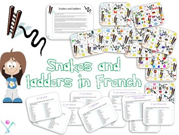 French snakes and ladders bundle