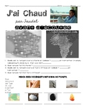 French song NOVICE listening activity: J'AI CHAUD