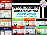 French-speaking Cities & Countries BUILD YOUR OWN bundle {en français}