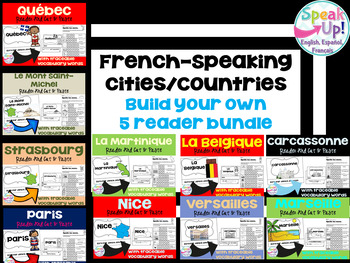 French-speaking Cities & Countries BUILD YOUR OWN bundle {