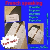 French speaking- Task cards - Conseil, Suggestion, Regret,