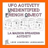 French speaking activity-La Maison-Unidentified French Obj