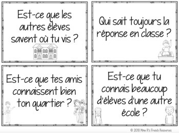 French speaking activity SAVOIR & CONNAÎTRE