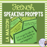 French speaking activity - house and home vocabulary