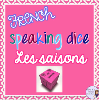 French speaking activity - the seasons / les saisons