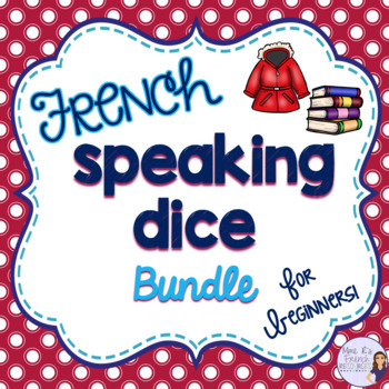 French speaking dice bundle