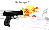 "French spelling and grammar, Orthochanson ""Ontuqui""."