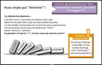 """French spelling and grammar in songs, Orthochanson """"Dommage"""""""