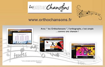 "French spelling and grammar in songs : Orthochanson ""Le Rap des chiffres"""