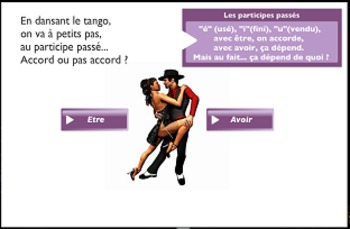 "French spelling and grammar in songs, Orthochanson ""Le tango des accordés"""