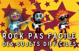 """French spelling and grammar in songs, Orthochanson """"Rock d"""