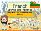 French sports and hobbies, sports et passe-temps full lesson for beginners