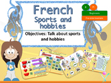 French sports and hobbies, les sports et les passe-temps PPT for beginners