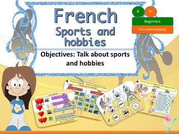 French sports and hobbies, les sports et les passe-temps P