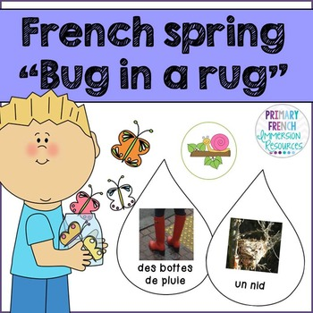 """French spring / le printemps - """"bug in a rug"""" game"""