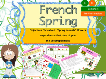 French spring, le printemps for beginners