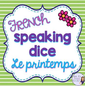 French spring speaking activity ACTIVITÉ ORALE LE PRINTEMPS