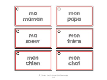 French story writing ideas/Oral conversation prompts - Les idées d'écriture
