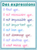 French subjunctive posters