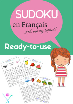 French Game - Activities : Sudoku puzzles